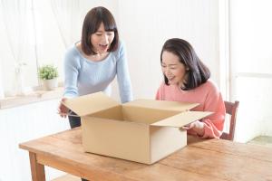 【2】届いた宅配買い取りキットにお品物と必要書類を記入して送る